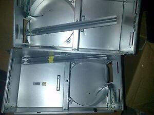 Broan-NuTone-bathroom-fan-heater-034-LOT-OF-2-034-2-HOUSINGS-amp-8-BRACKETS-FOR-665RP