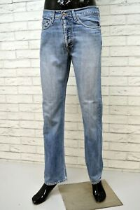 TOMMY-HILFIGER-Jeans-Uomo-Taglia-42-Pants-Men-Pantalone-Casual-Vita-Alta