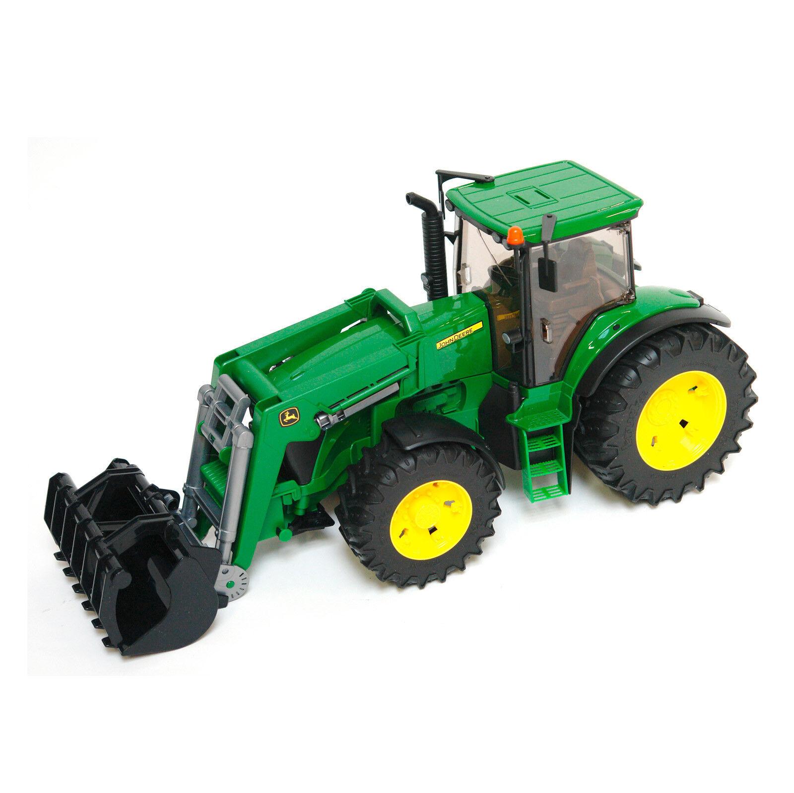 BRUDER Spielzeug John Deere 7930 Traktor Schlepper mit mit mit Frontlader   03051  | Viele Stile  a1186a