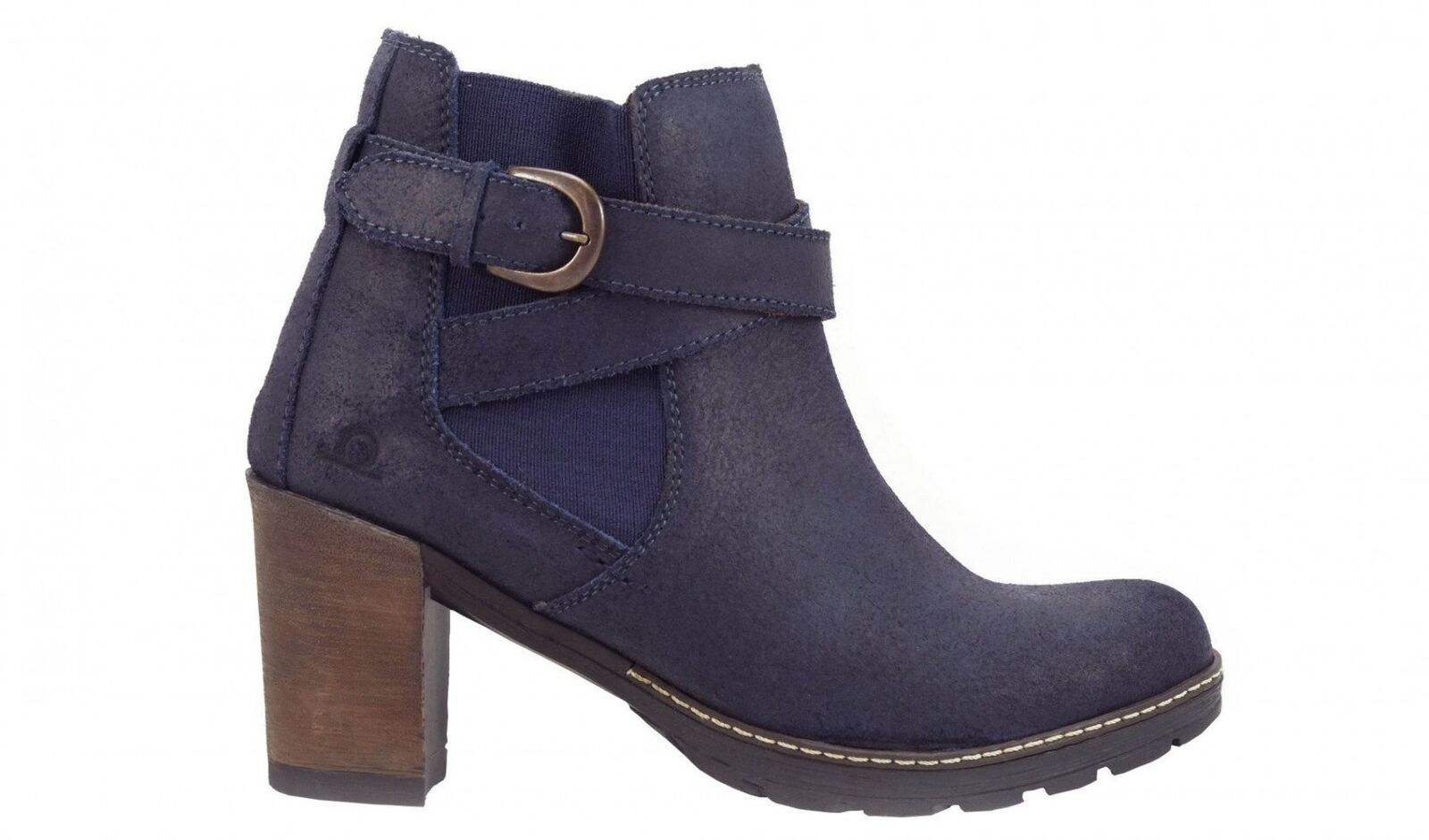 Chatham Amy Heeled Navy Leder Ankle Stiefel Stiefel Stiefel a4e037