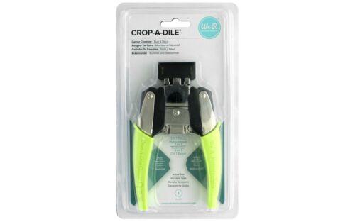 661300 WE R MEMORY CROP-A-DILE CORNER CHOMPER STUB DECO