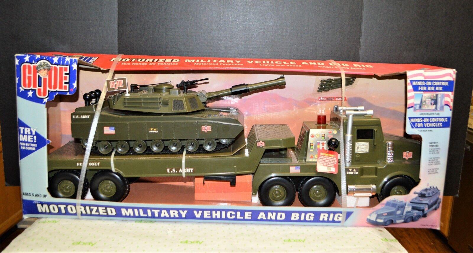 GI Joe Motorized Military Vehicle and Big Rig Hasbro 2002 Unopened 35 x 12  NIB