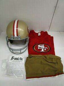 FRANKLIN-NFL-SAN-FRANCISCO-49ERS-YOUTH-UNIFORM-SET-COSTUME-LARGE-NT-7273