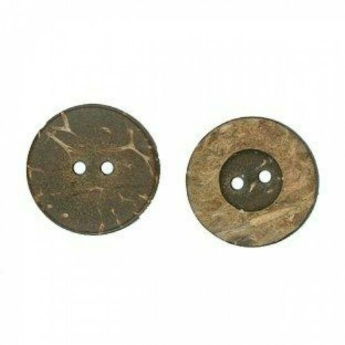 W9424-M Round Coconut Buttons LL