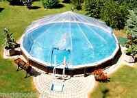 Round Above Ground Swimming Pool Solar Sun Dome Cover Heater Panel Sundome