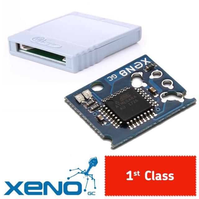 Xeno GC + SD Adapter   Nintendo Gamecube Mod Chip / Kit   1st Class