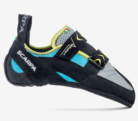 Schuhe H Kletterei Bouldern Damen SCARPA VAPOR V WMN Turquoise  | Charmantes Design