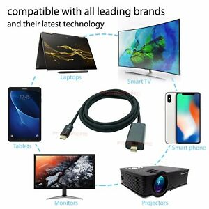 Type-C-USB-3-1-to-Display-Port-HDMI-DVI-VGA-4K-2K-Video-Adapter-Converter-Cable