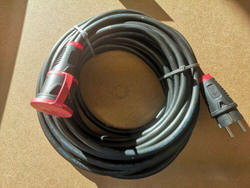 H07RN-F 3x2,5 Extérieur Rallonge 4m Câble Caoutchouc IP54
