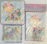 Hallmark Party Hey Diddle Diddle Napkins And Game Book For Baby Shower