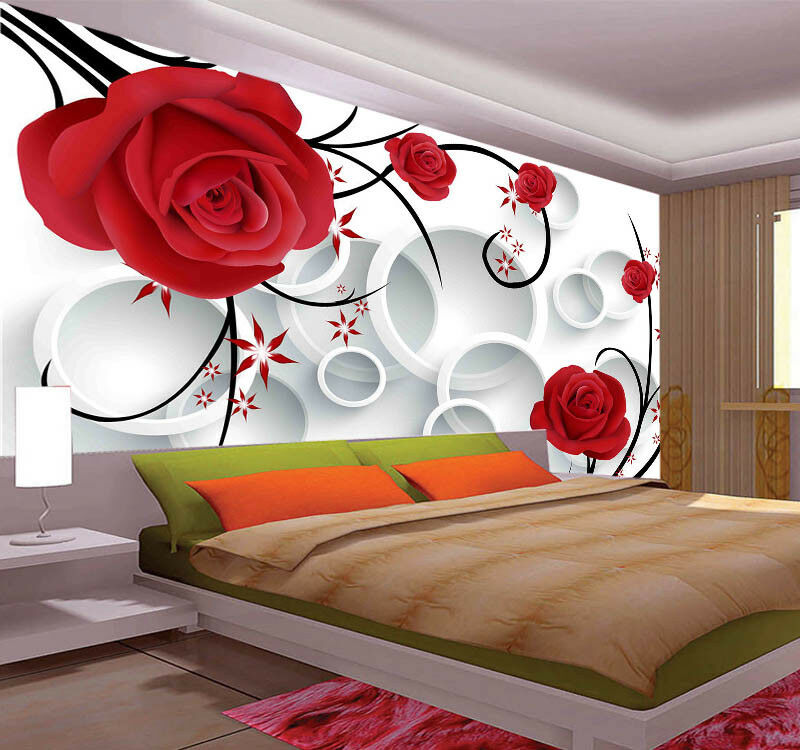 ROT Main Pulpy Pear 3D Full Wall Mural Photo Wallpaper Printing Home Kids Decor