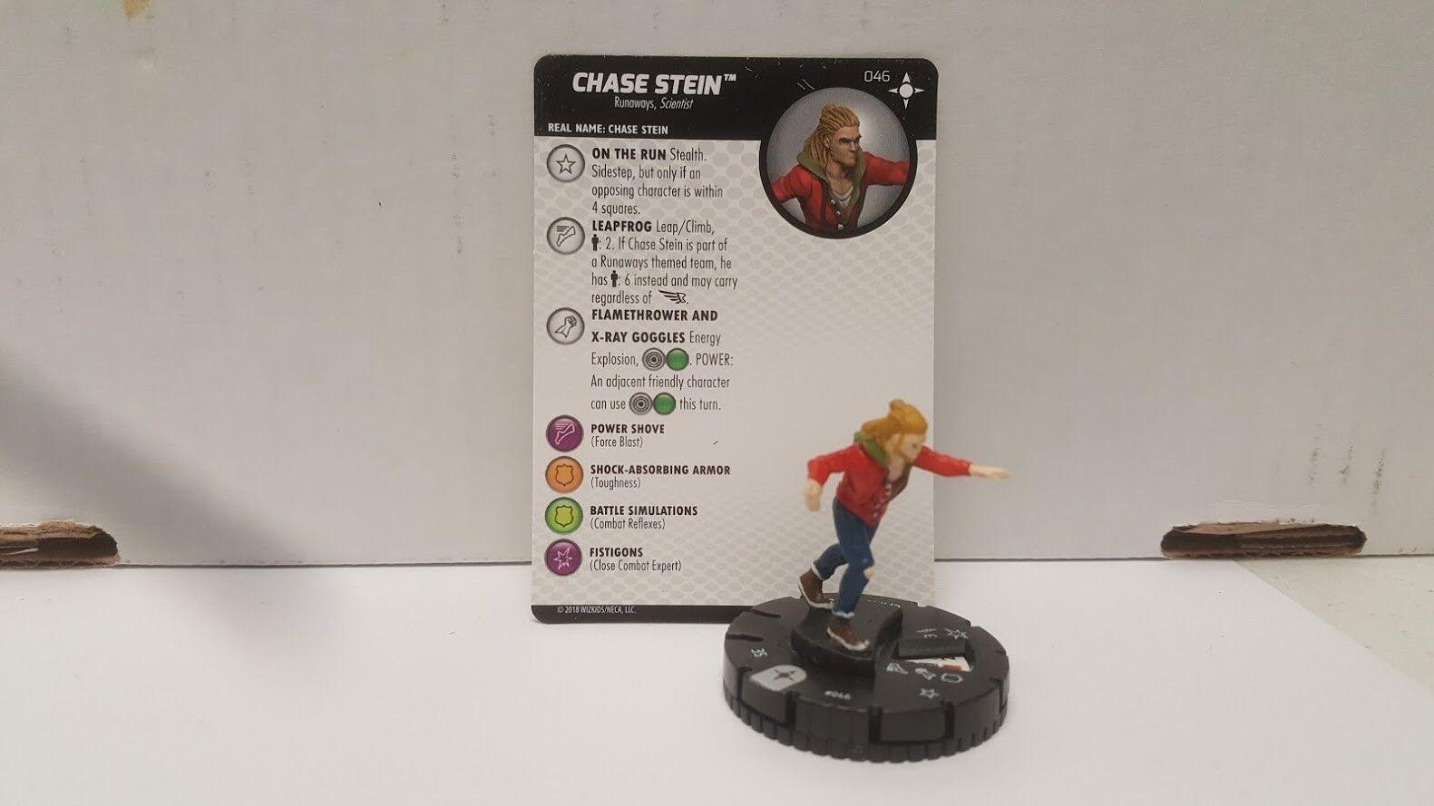 Heroclix Secret Wars Battleworld # 046 Chase Stein