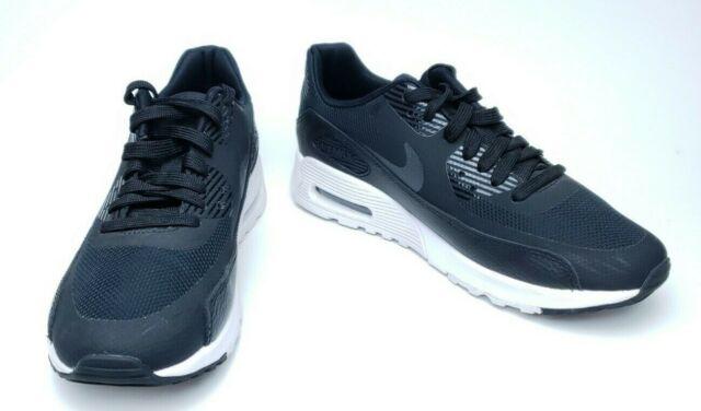 Nike Womens Sz 6 Airmax 90 Ultra 2.0 Black White Running Shoes 881106 002