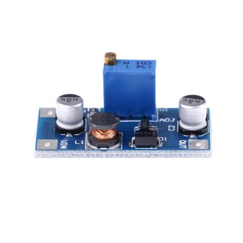 2A DC-DC boost step up volt converter power supply 2V-24V to 3v 5v 6v 9v 12v UXJ