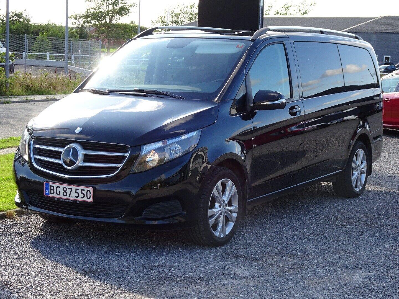 Mercedes V220 d 2,2 aut. lang - 499.000 kr.