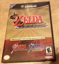 Legend of Zelda WindWaker + Ocarina Master Quest Bonus Disc Complete GameCube