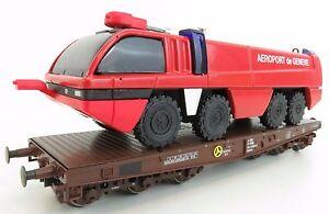 Maerklin-4849-OBB-Schwerlastwagen-mit-Loeschfahrzeug-OVP-TOP-DK447