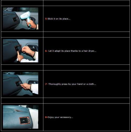 DODGE FREIGHTLINER MERCEDES W906 SPRINTER INTERIOR DASH TRIM 40PCS 2006-UP RHD