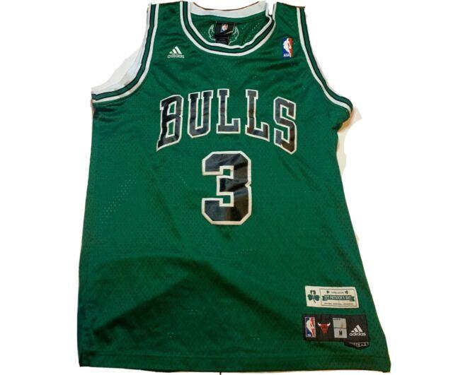 chicago bulls green jersey