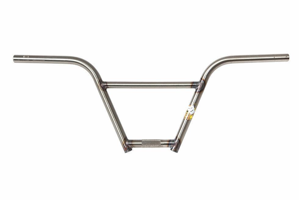 S&M Fu-Bar (Gloss Clear) Four Piece BMX  Handlebars Rise 9  x 29  Width  online retailers