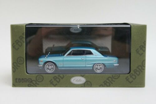 EBBRO 43969 1:43 Nissan Skyline GT Hard Top KGC10 blue