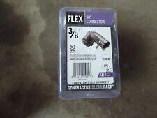 Halex 3 8 In Flexible Metal Conduit Fmc Clamp Combination Connector 25 Pcs For Sale Online Ebay