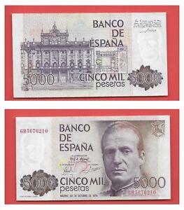 ESPAGNE-BILLET-DE-5000-PESETAS-23-10-1979-U-N-C-W-P-M-N-160