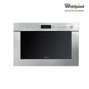 whirlpool amw498ix built in microwave oven quartz grill stainless steel new ebay. Black Bedroom Furniture Sets. Home Design Ideas