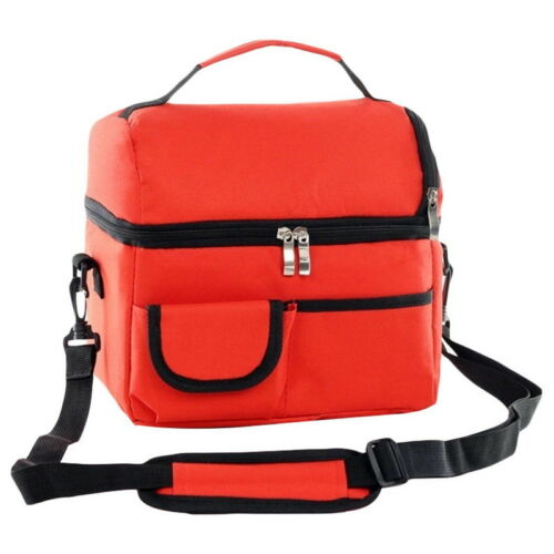 Large Portable Cool Bag Insulated Thermal Keep Warm for Food Lunch Picnic UK