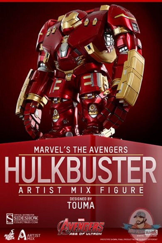Los Vengadores Edad de Ultron serie 1 Hulkbuster artista Mix Hot Juguetes