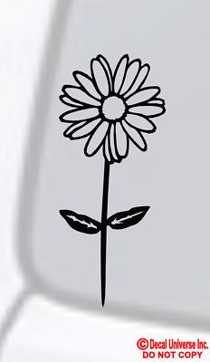 Flower daisy Vinyl Car Sticker Beautiful Flower Car Decal for Car Window Body ar