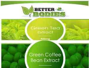 60-estratto-di-chicco-di-caffe-verde-30-Te-Verde-Dieta-Dimagrante-Pillole-Slim-Fat-Burn
