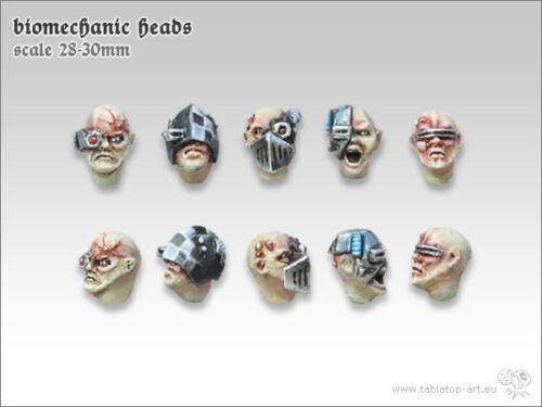 Miomechanic Heads *Tabletop Art* 10
