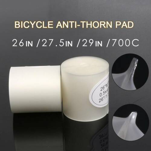 """2x Cycling Mountain Bike Bicycle Tire Liner 26//27.5//29/""""//700C Anti Puncture Pad"""