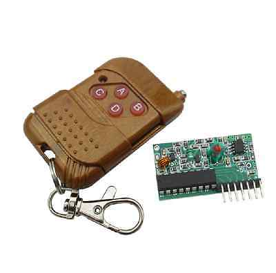 1PCS 4CH IC 2262/2272 Key 315MHZ Wireless Remote Control Receiver module