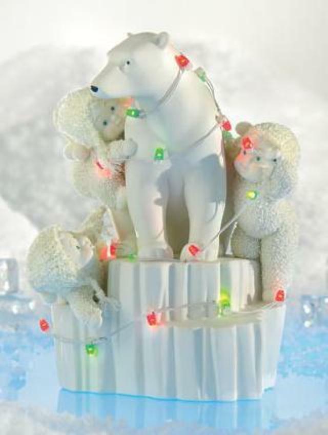 Snowbabies  Nothern Lights  796014 von Department 56