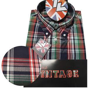 Warrior-UK-England-Button-Down-Shirt-MCGOOHAN-Hemd-Slim-Fit-Skinhead-Mod