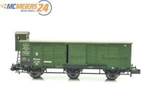 E111-Minitrix-N-13269-Gueterwagen-mit-Bremserhaus-47-772-K-Bay-Sts-B-TOP