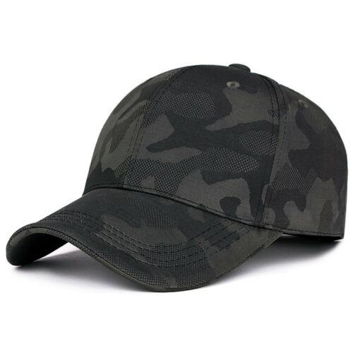 Unisex Men Women Camouflage Baseball Caps Snapback Hip-Hop Adjustable Casual Hat
