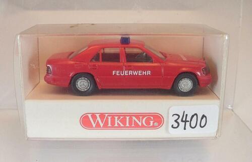 Wiking 1//87 nº 600 01 18 mercedes benz 320 e Limousine bombero original #3400