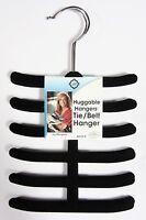 Joy Mangano Huggable Hangers Tie/belt & Scarves Set Of 2 Per Package Nip