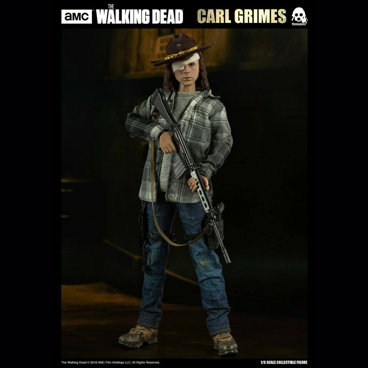 ThreeZero 3Z0062 1 6 The Walking Dead Carl Grimes version standard