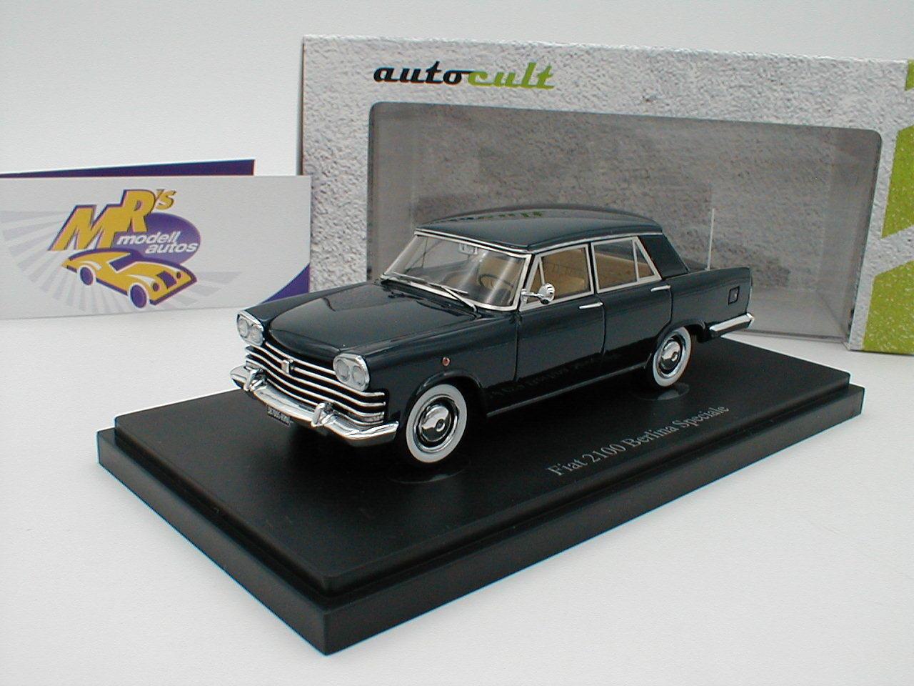 Autocult 05021 - fiat - 2100 berlina speciale baujahr 1959 in  dunkelblau  1 43