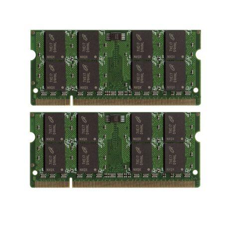 2x1GB NEW 2GB Memory PC2-5300 SODIMM For Acer Extensa 5510Z
