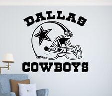 Dallas Cowboys Wall Vinyl Decal NFL Sticker Home Sport Art Decor Football Emblem