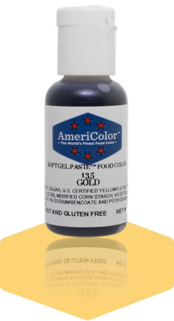 AmeriColor Gel Colour - Gold - oz for sale online   eBay