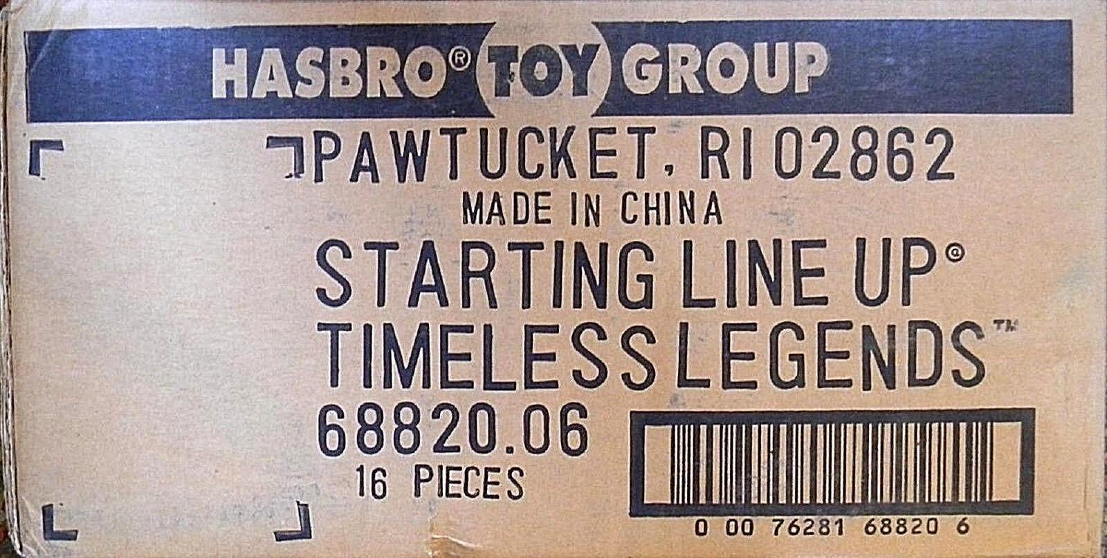 SLU 1996 Tmeless Legends Sealed 16 Figure Case 68820.06