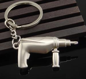 Schlüsselanhänger Keychain Werkzeug Handwerker Bohrmaschine