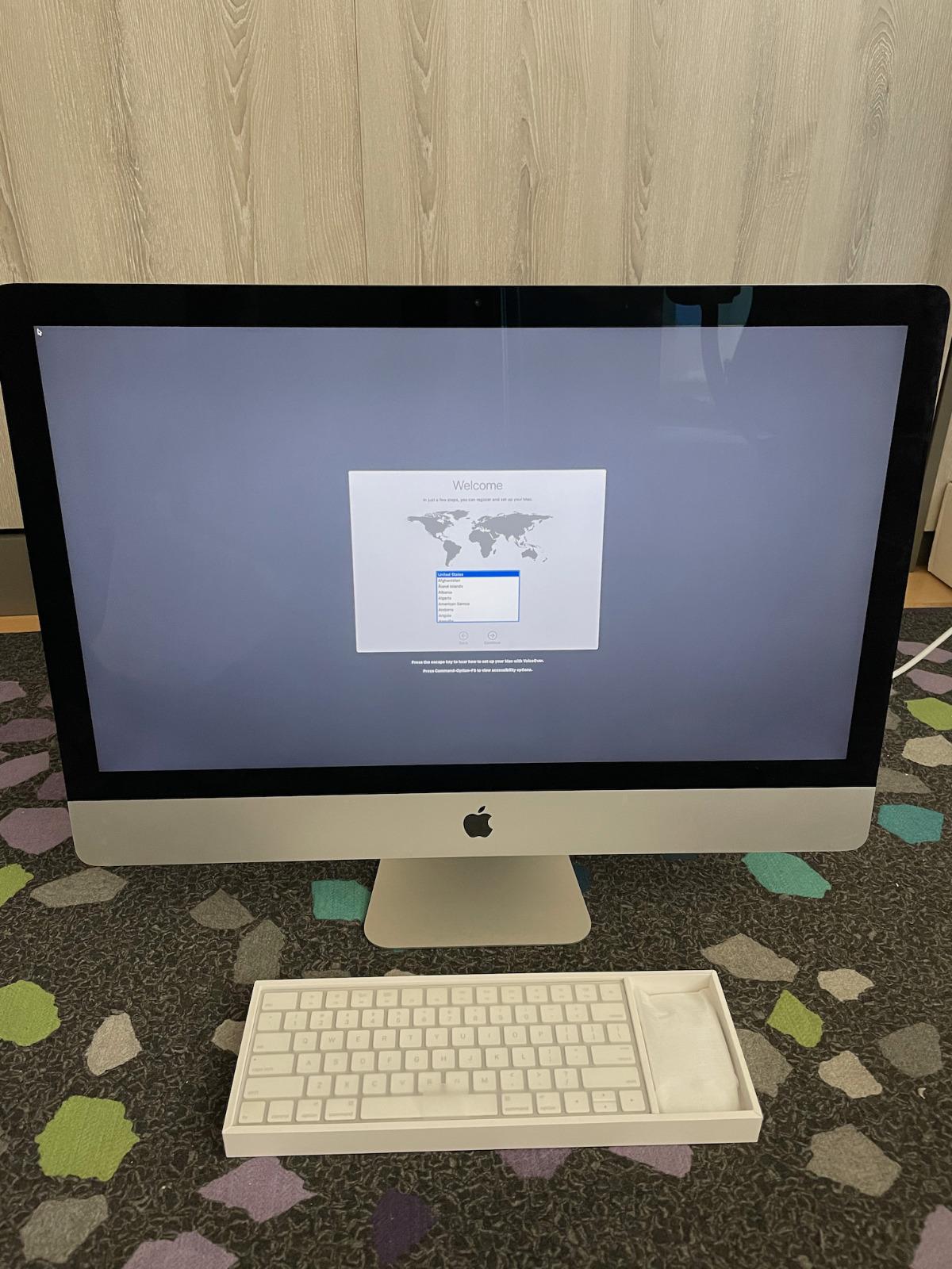 """Apple iMac 27"""" 5K Retina (Late 2014) 4.0 Ghz i7/32GB RAM/AMD R9 M295X/512 GB SSD. Buy it now for 1199.00"""