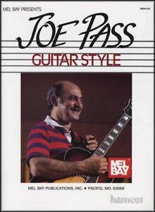 100% Vrai Joe Pass Guitare Style Music Book Jazz Harmony & Melody-afficher Le Titre D'origine